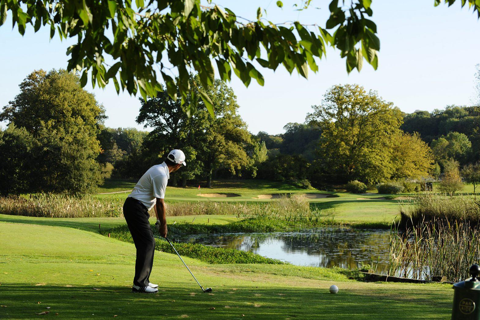 J'ai trop de différence de niveau entre le practice et le parcours | Enphase Golf